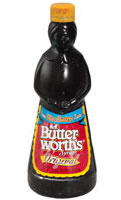 You can't buy Mrs. Butterworth's in Russia! :(
